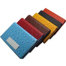Leder-Produkt-Visitenkarte-Kasten für Förderung