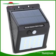 Solar Power Wall Mounted Motion Sensor Outdoor Lighting Solar Lamp LED Solar Light, Solar Wall Light