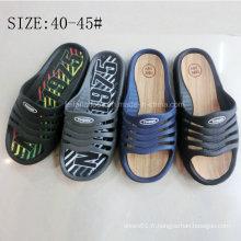 Chaussures de jardin de chaussures de plage EVA Sabots confortables pour hommes (FY151022-11)