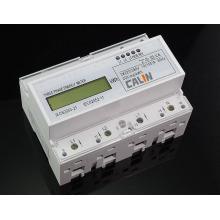 Drei-Phasen-DIN-Schiene Smart Electricity Meter