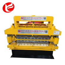 Good Quality for Double Layer Roll Forming Machine Double deck roof panel roll forming machine export to Palestine Factory