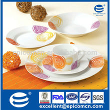 great quality 20pcs dinner set with elegance design