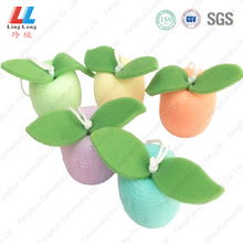 Wholesale+flower+shower+puff+mesh+sponge