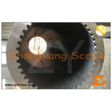 Planetary Roller Screw Barrel for PVC Plastic Extruder Granules