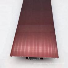Thermal Break Door Electrophoresis Aluminum Profile