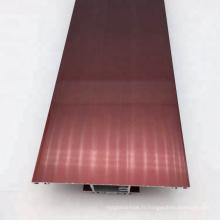 Profil en aluminium d'électrophorèse de porte de coupure thermique