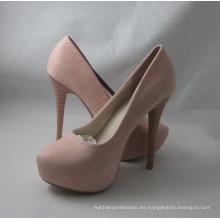 Zapatos de vestir de tacón alto de moda de estilo nuevo (HCY03-148)