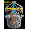 10 Inch Pageant Crown Sun Flowers Crown