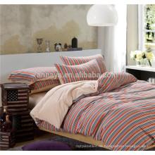 100% Baumwolle Jersey Strickbettwäsche Set und Blattset farbig mit gepaßtem Blatt