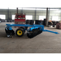 Reinforced hydraulic heavy duty 24 disc harrow