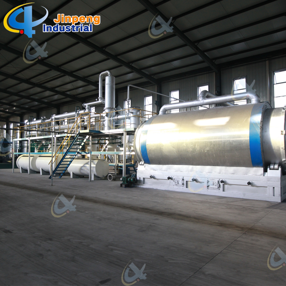 Automatic Waste Tire Recycling Line