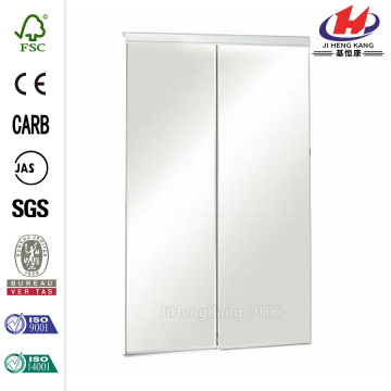 Polished MDF Glass Sliding Door