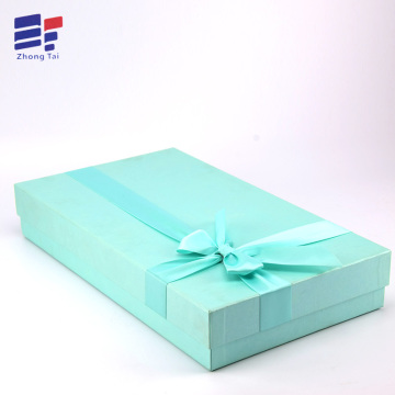 Pure color clothing paper gift box