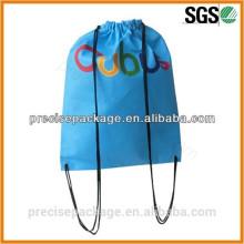sacos não tecidos baratos da trouxa do cordão