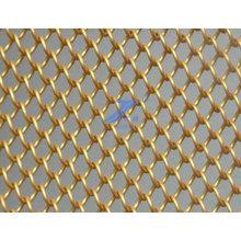 Acoplamiento de alambre de latón decorativas cadena enlace (TS-e140 con)