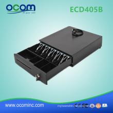 ECD405B Electronic Metal Black RJ11 3-position lock pos cash drawer box
