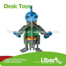 Crianças como brinquedo de plástico bloco de construção LE-PD003