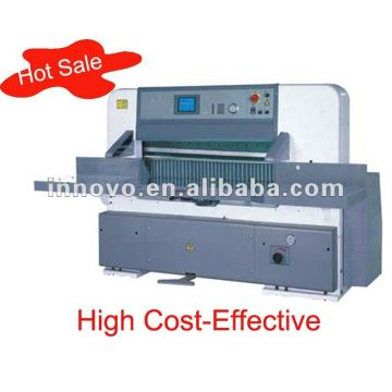 Program Control Paper Cutting Machine Guilotine