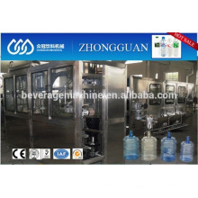 Automatic 5 Gallon Bottle Washing Filling Capping Machine / Machinery / Line