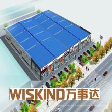 Wiskind Warehouse - Garaje de acero prefabricado