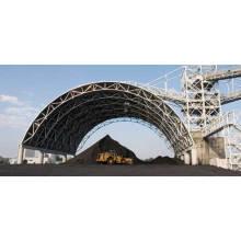 Stahlkonstruktions-Stahlraum-Kohlen-Speicherhalle als Lager-Dach-Stahlrahmen