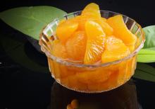 धातु फल चीनी कर सकते हैं नारंगी भोजन कर सकते हैं