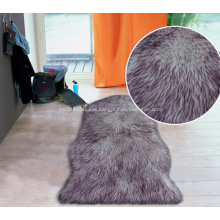 Imitation fur with color fading