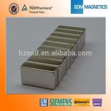 Professional Customized N52 N50 Magnets rectangular Magnets ndfeb n42sh magnet with RoHS Certificate