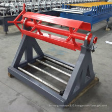 3 Tons Color Aluminium Sheet Metal Simple Uncoiler