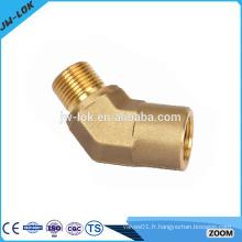 Raccords de tuyaux à souder forgés à compression en laiton