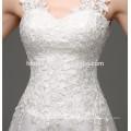Meerjungfrau Brautkleid sexy durchsichtig backless Spitzenkleid für einen Tag Hochzeit