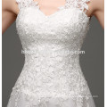 Mermaid bridal wedding dress sexy see-through backless lace dress for a day wedding