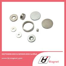 Haute qualité personnalisé N35-N52 anneau permanents NdFeB/aimant au néodyme permet Motors