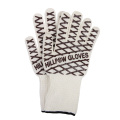 High Temperature Working Black/White stripes Gloves