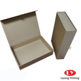 Golden Color Gift Box Packaging Magnetic Close