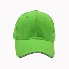 Cheap Plain Sandwich Baseball Cap with Metal Closure (GKA01-F00057)