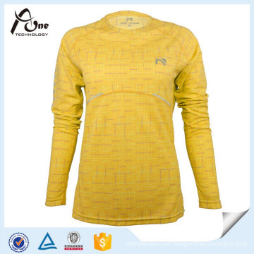 Fitness Clothing Lady Dry Fit Sports Long Sleeve Shirts