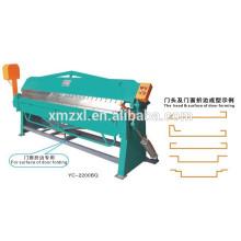 Máquina neumática plegable de Metal