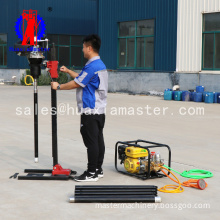 vertical backpack drilling machine /  30meter coring sampling drilling rig / Kohler power drill rig