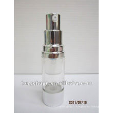 15ml Pompe à air sans coutures en plastique clair et épuré bouteille emballage cosmétique en petites quantités