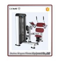 Máquina abdominal comercial do equipamento do Gym