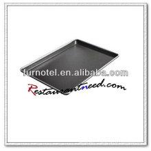 V004 casserole de feuille d'alliage d'aluminium de relief anti-adhésif standard d'économie d'énergie