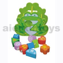 Wooden Shape Sort Frog Toy (81046)