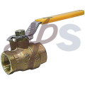 CW617 Lever Full Bore Forged Brass Ball Valve PN20