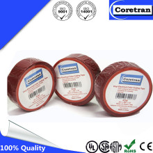 PVC aislamiento eléctrico impermeable cinta para cables caucho adhesivo