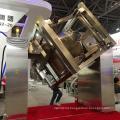 pharmaceutical double column ibc hopper bin tote blender mixer machine