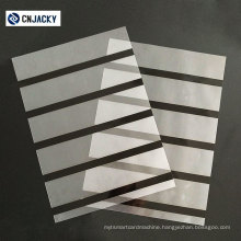 Coated Overlay with Hi-Co or Lo-Co Magnetic Strip
