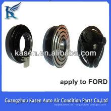Piezas del compresor del coche 6PK 12v embrague del compresor del coche