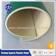 Producción virgen orgánica y 100% pura del piso del deporte del pvc de las materias primas del PVC