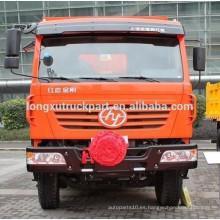 SAIC-IVECO HONGYAN KINGKAN, 310hp 6 * 4 Camión volquete 2